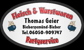 Fleisch- und Wurstwaren Thomas Geier - Logo