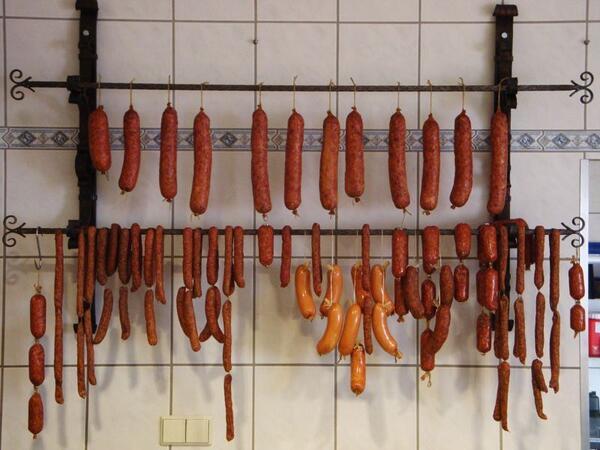Frischen Fleisch- und Wurstwaren